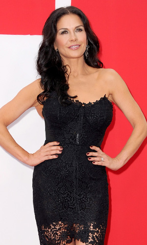 Catherine Zeta-Jones at L.A.'s 'Red 2' premiere (Kevin Winter/Getty Images)
