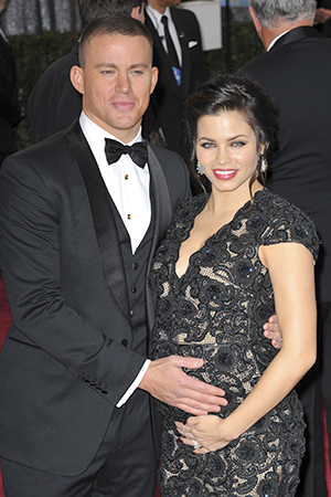 Channing and Jenna Dewan-Tatum at the 2013 Oscars (Juan Rico/FameFlynet)