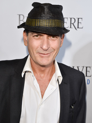Charlie Sheen has been on a giving spree lately. (George Pimentel/WireImage)