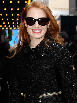 Jessica Chastain (Nancy Rivera / Splash News)