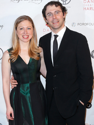 Chelsea and Mark. (Getty Images)