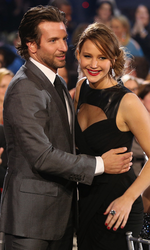 Bradley Cooper and Jennifer Lawrence (Christopher Polk/GettyImages)