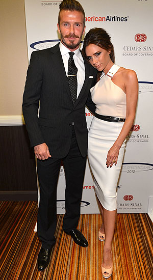 David and Victoria Beckham (Getty Images)