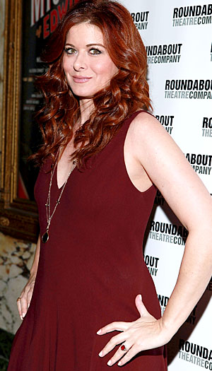 Debra Messing dishes to omg! on her new show. (Startraksphoto)