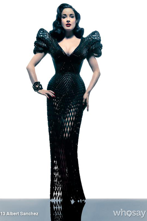 Dita in 3-D. (WhoSay.com)