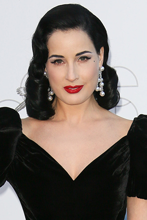 Dita Von Teese now ... (Tony Barson/FilmMagic)
