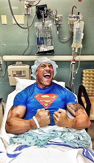 Dwayne 'The Rock' Johnson (Twitter)