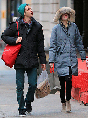 Andrew Garfield and Emma Stone in NYC (Splash News)
