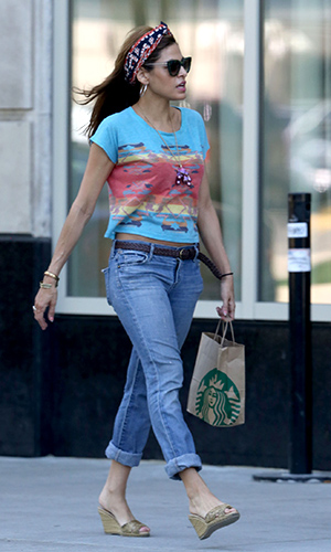 Eva on May 15, 2013 (Splash News)