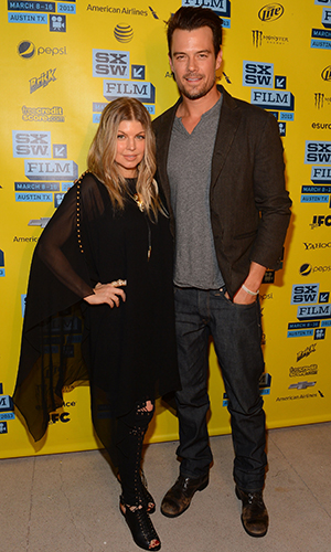 Fergie and Josh Duhamel in Austin, Texas (Getty Images)
