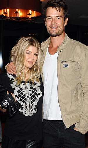 Fergie and Josh, February 2013 (WireImage)