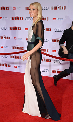 Gwyneth Paltrow at 'Iron Man 3' premiere (Getty Images)