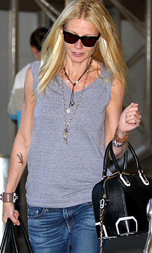 Gwyneth Paltrow at LAX on January 20 (Splash News)