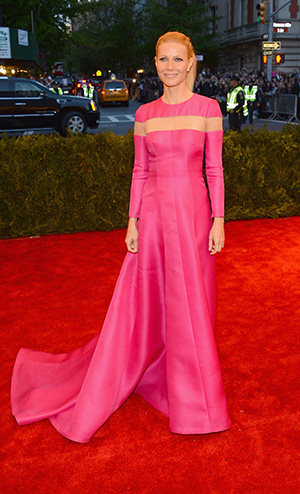 Gwyneth Paltrow at the Met Gala (Getty Images)