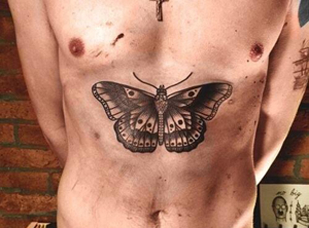 Harry Styles' new tattoo (Flickr)