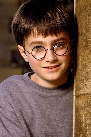 Daniel Radcliffe as Harry Potter (Everett Collection)