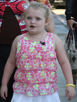 Honey Boo Boo. (Splash News)