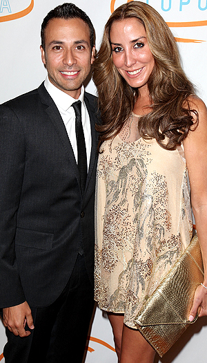 Howie Dorough and wife Leigh. (FilmMagic)