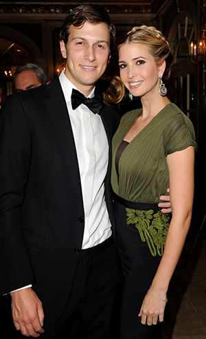 Jared Kushner and Ivanka Trump (Getty Images)