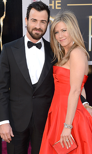 Jennifer Aniston and Justin Theroux (Jason Merritt/Getty Images)