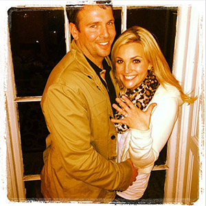 Jamie Lynn Spears' engagement photo (Instagram)