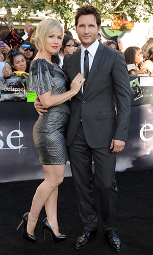 Jennie Garth and Peter Facinelli (Gregg DeGuire/PictureGroup)