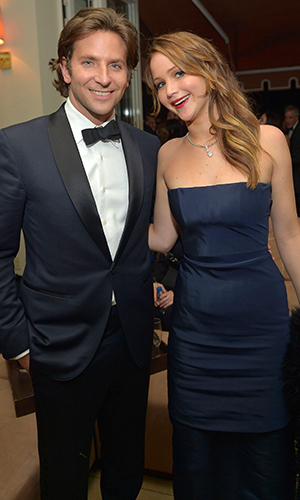 Bradley Cooper and Jennifer Lawrence (Getty Images)