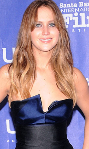 Jennifer Lawrence before... (Wireimage)