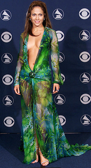 J.Lo at 2000 Grammys.