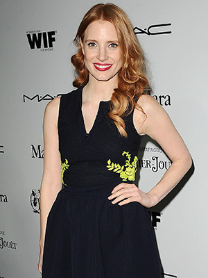 Best Actress nominee Jessica Chastain (Jason LaVeris/FilmMagic)