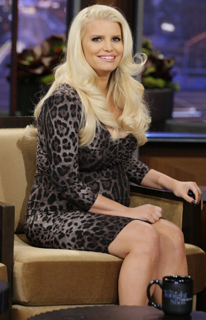 Jessica Simpson on 'The Tonight Show' (Getty Images)