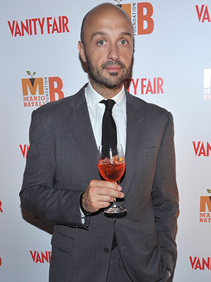 Joe Bastianich gives the new Jolie-Pitt wine a good review. (Getty Images)
