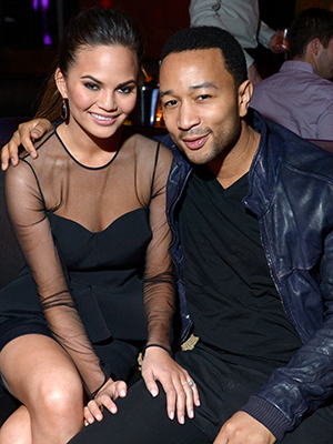 Chrissy Teigen and John Legend (Getty Images)