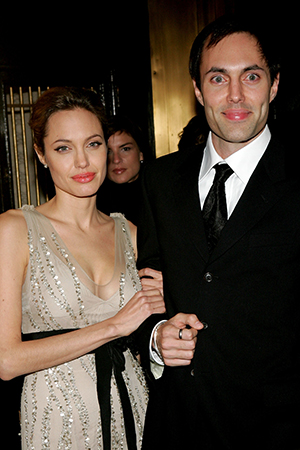 Angelina Jolie and James Haven in 2005 (Paul Hawthorne/Getty Images)