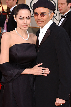 Thorton and wife Angelina Jolie during their marriage. (WireImage)