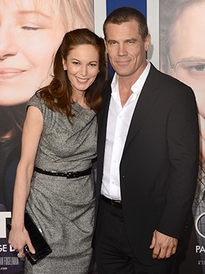Diane Lane and Josh Brolin in December 2012 (Jason Merritt/Getty Images)