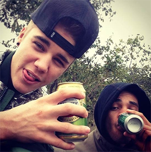 Justin Bieber in South Africa (Instagram)