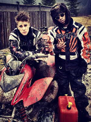 Bieber and Twist. (Instagram)