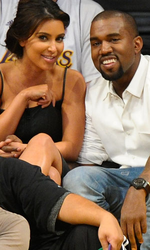 Kim and Kanye in May 2012 (Getty Images)