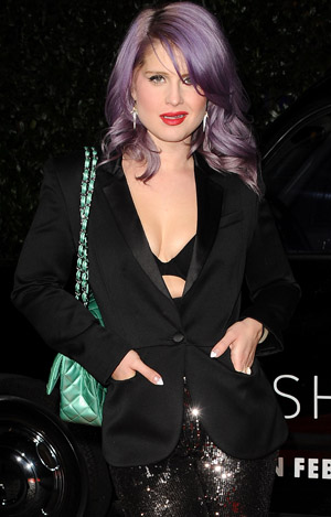 Kelly Osbourne on February 13 (Getty Images)