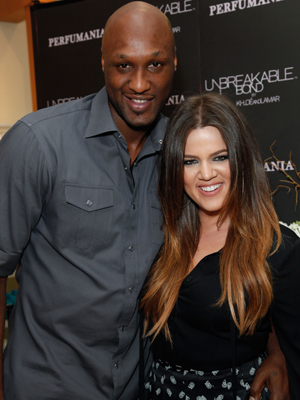 Khloe and Lamar. (WireImage)