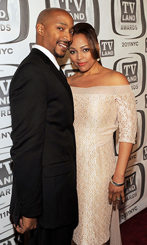 Kim Fields and Christopher Morgan (Larry Busacca/Getty Images)