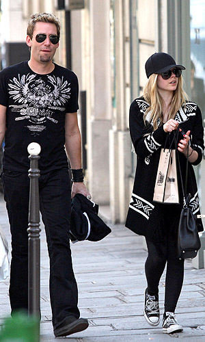 Chad Kroeger and Avril Lavigne (PacificCoastNews.com)