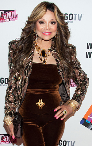 LaToya Jackson talks to omg!. (Valerie Macon/Getty Images)