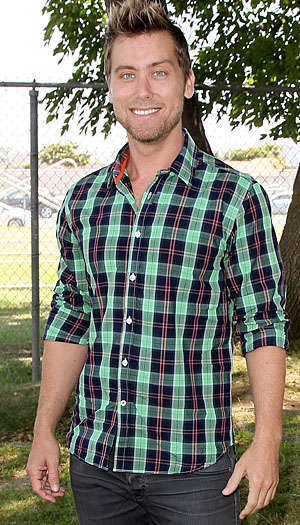 Lance Bass, June 2012 (WireImage)