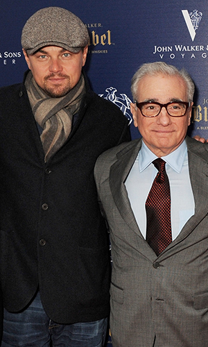 Leonardo DiCaprio and Martin Scorsese (Dave M. Benett/Getty Images)