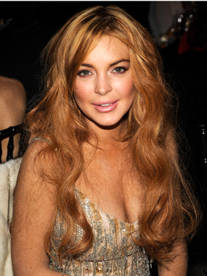 Lohan on February 7. (Kevin Mazur/WireImage)