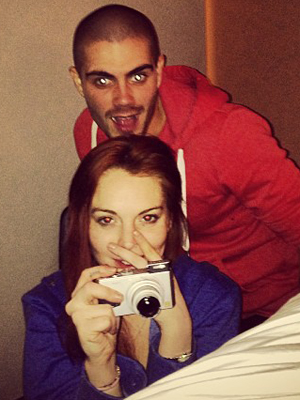 Lindsay and Max. (Instagram)