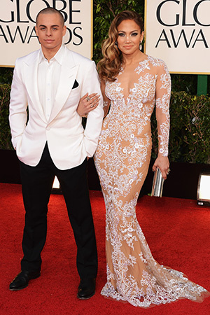 Jennifer Lopez and Casper Smart (Getty Images)