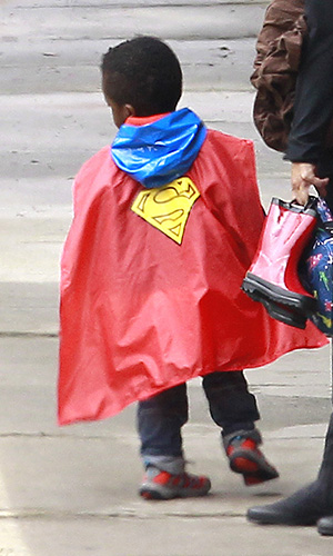 Check out that cape. (Pacific Coast News)
